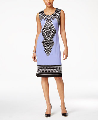 JM Collection Studded Shift Dress, Only at Macy's $59.50 thestylecure.com