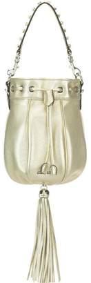 Miu Miu Bandoliera Tassel Detail Bucket Bag