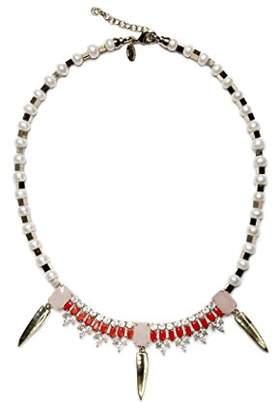 Iosselliani Women Gold Brass Pearl Necklet of Length 41cm C 731/18 SS