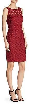 Carmen Marc Valvo Women's Dot Cocktail Dress