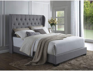 Willa Arlo Interiors Mamadou Wood Framed Upholstered Panel Bed