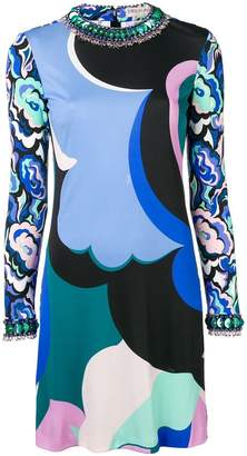 Emilio Pucci short printed dress