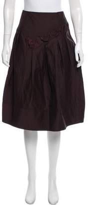 Marni A-Line Knee-Length Skirt