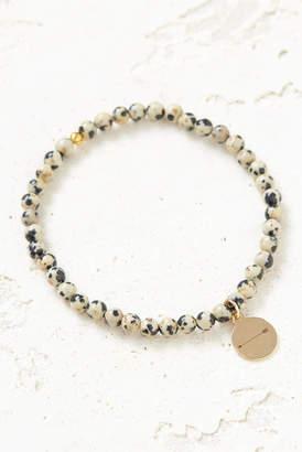 Eff.Y.Bee eff.Y.bee Mini Keep Aiming Dalmatian Jasper Bliss Bracelet