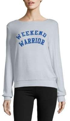 Wildfox Couture Weekend Warrior Sweatshirt