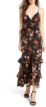 Lush Tiered Maxi Dress