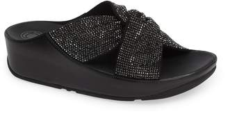 FitFlop Twiss Crystal Embellished Slide Sandal