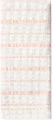 Kate Spade Vintage Stripe Crystal Pink Kitchen Towel