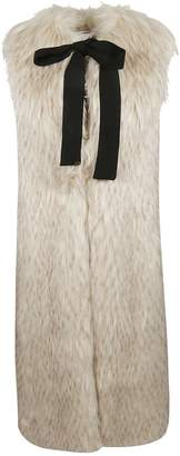 Elisabetta Franchi Celyn B. Long Fur Vest