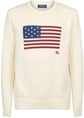 Polo Ralph Lauren American Flag Sweater