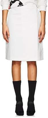 Prada Women's Tech-Twill A-Line Skirt