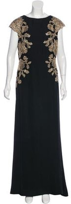 Tadashi Shoji Embroidered Lace Gown $230 thestylecure.com