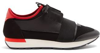 Balenciaga Race Runner Trainers - Mens - Black Multi