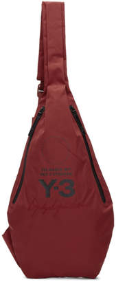 Y-3 Red Yohji MSGR Bag