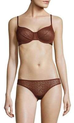 DKNY Mesh-Lined Underwired Bra