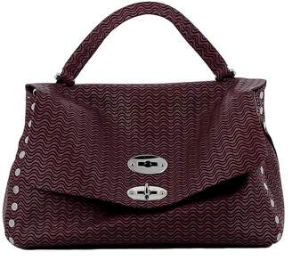 Zanellato Uva Rossa Leather Handbag