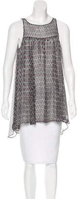 Tracy Reese Silk Printed Top