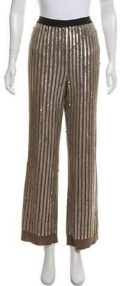 Marc Jacobs Wool Embellished Pants