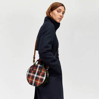 Warehouse Tartan Mini Circle Bag