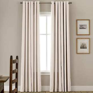 JCPenney JCP HOME HomeTM Jenner Cotton Grommet-Top Thermal Curtain Panel