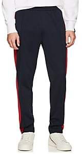 Rag & Bone Men's Striped Tech-Jersey Track Pants - Navy