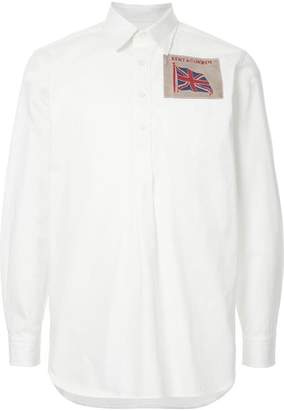 Kent & Curwen flag patch shirt