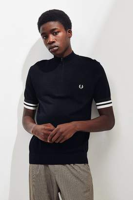 Fred Perry Quarter-Zip Knit Shirt