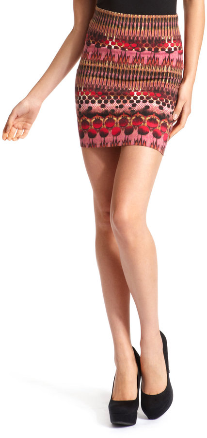Dotted Tribal Cotton Skirt
