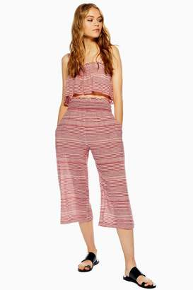 Topshop Stripe Beach Trousers