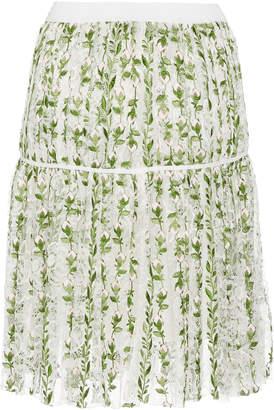 Giambattista Valli Floral Mini Skirt