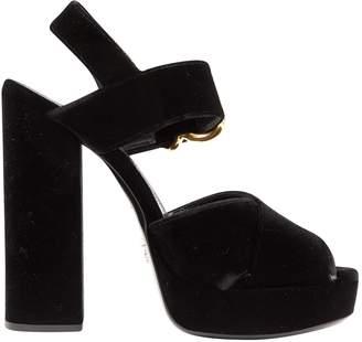 Prada Velvet heels