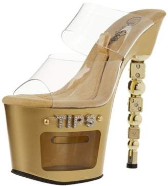 Pleaser USA Women's Dice-702-2 Platform Sandal