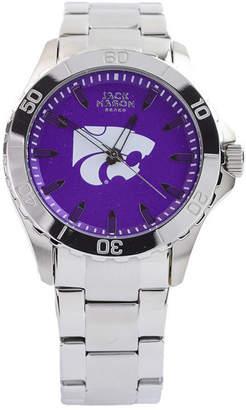 Jack Mason Men's Kansas State Wildcats Color Sport Bracelet Watch