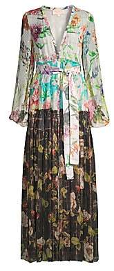 Rococo Sand Women's Double Print Floral Dress