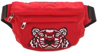 Kenzo Tiger Embroidered Nylon Belt Pack