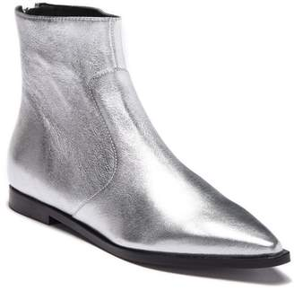 Sigerson Morrison Eranthe Metallic Leather Bootie