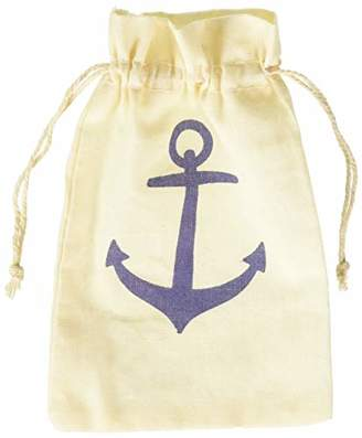 Kate Aspen Voyages Anchor Muslin Favor Bag