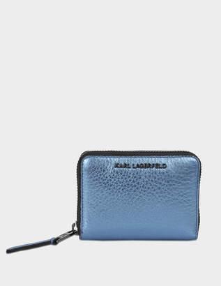 Karl Lagerfeld k/kool small zip wallet