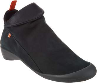 Fly London Softinos by Leather Low Ankle Boot - Farah