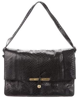 Celine Clasp Python Bag