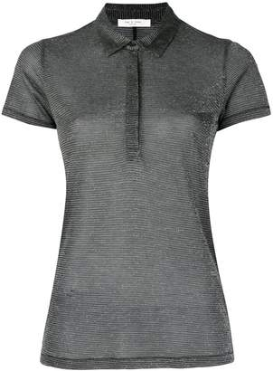 Rag & Bone see-through polo shirt