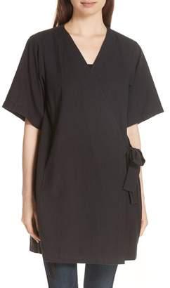 Eileen Fisher Kimono Sleeve Organic Cotton Blend Jacket
