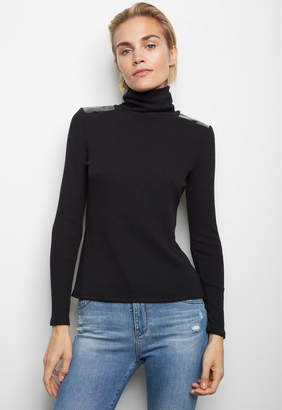 Generation Love Avery Patent Leather Sweater