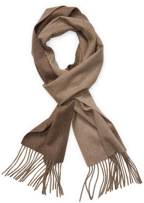Qi Ombre Cashmere Rectangular Scarf