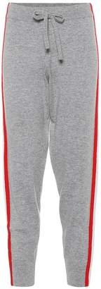 Jardin Des Orangers Wool and cashmere jogger pants