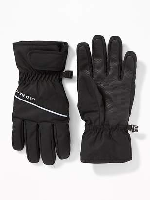 Old Navy Water-Resistant Snow Gloves for Kids