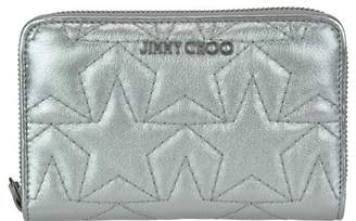 ff93e7debc4 Jimmy Choo Silver Women's Wallets - ShopStyle