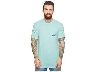 VISSLA Established Tri-Blend Pocket T-Shirt Top Men's T Shirt