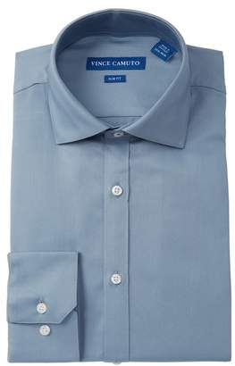 Vince Camuto Solid Slim Fit Dress Shirt