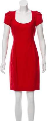 Zac Posen Wool Knee-Length Dress